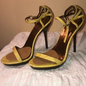 Yellow Michael Antonio Heels